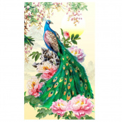 Awakingdemi DIY Diamond Embroidery Painting Peacock Home Decoration