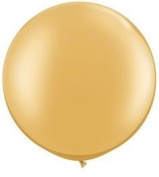 Gold Metallic 90cm Latex Balloon