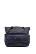 'Lisa' Baby Bag / Nappy Bag - Carryall Tote - Midnight Blue