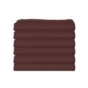 bkb Daycare 6 Piece Portable Crib Sheets, Brown