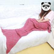 Candora Warm and Soft All Seasons Medium Adult Mermaid Blanket Sofa Quilt Living room blanket 71*90cm
