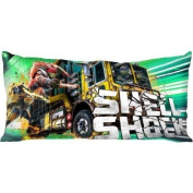 TMNT Easy Care Official Shell Shock Body Pillow, Perfect for the Ultimate TMNT Fan