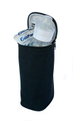 Fully Insulated & Leak-Proof Lining Bottle Cooler in Black