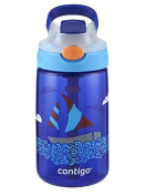 Contigo AUTOSPOUT Gizmo Flip Kid Water Bottle Handle 410ml - Sapphire