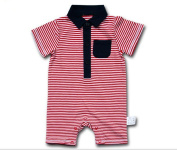 Ding-dong Baby Boy Girl Striped Romper