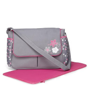 Cudlie! Nappy Bag & Changing Pad, Floral