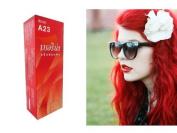 Berina (A23) Permanent Hair Colour Dye Bright Red Colour : 1 Box