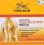Tiger Balm Patch, Pain Relieving Patch, 10cm x 7cm , 5-Count Packages