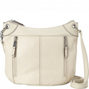 Tignanello Simple Zip Large Grain Leather Convertible Cross Body