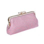 Ustylish Crystal Wedding Clutch Purse Bag for bride
