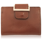 Women's Handmade Brown Water Buffalo Leather Wallet