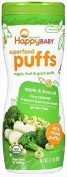 60ml, Natural Apple & Broccoli Flavour Baby Puffs