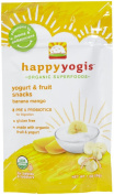 30ml, Delicious & Nutritious Banana/Mango Treat Baby Yoghurt Snacks