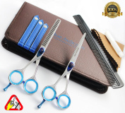 14cm Inch Left Hand Professional Hairdressing Scissors Set Barber Salon Hair Cutting Thinning Shears Kit
