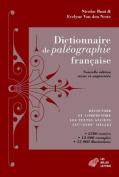 Dictionnaire de Paleographie Francaise [FRE]