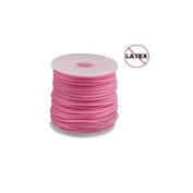 Round Rubber Cord Pink 2mm 10 metres / 10.9 Yards.