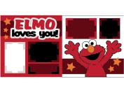 """Elmo Loves You"" Scrapbook Kit"