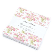 Bespoke Blooms Charm Pack By Brenda Riddle Designs; 110cm - 13cm Precut Fabric Quilt Squares