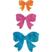 Go! Fabric Cutting Dies-Bow 6.4cm , 8.9cm & 11cm