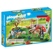 Playmobil 6147 Country Horse Paddock Super Set
