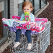 Infantino Compact 2-in-1 Cart Cover, Girl Multicolor