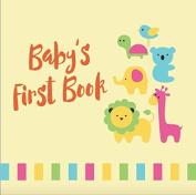 Tiny Angel Baby Memory Book ~ Keepsake Journal for Boys & Girls ~ Animal print cover