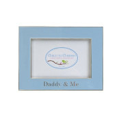 Child to Cherish Daddy & Me Enamelled Frame, Blue