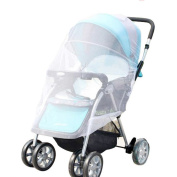 EVINIS White Infants Baby Stroller Pushchair Mosquito Insect Net Safe Mesh Buggy Crib Netting Cart Mosquito Net