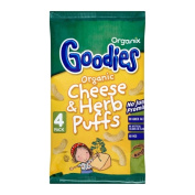 Organix Goodies Organic Puffs - Cheese & Herb 12mth+