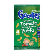 Organix Goodies Organic Puffs - Tomato, Cheese & Herb 12mth+