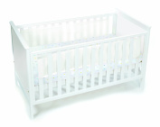 BreathableBaby Solid End Cot Mesh Liner