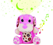 Stella My Little Pet Plush Puppy with Star Projector, Music Machine, Sound and Light