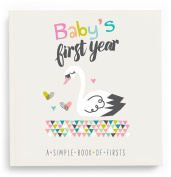 Lucy Darling Baby's First Year Memory Book