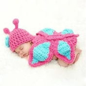 FEITONG Baby Girls Boy Newborn 0-9 Month Knit Crochet Minnie Clothes Photo Prop Outfits
