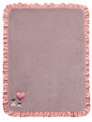 Twinkles of Joy Light Up and Musical Girls Receiving Baby Blanket, Pink Ballerina Deluxe Size: Large Colour
