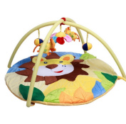 Baby Unisex Musical Play Mat Lion Soft Toy Playmat