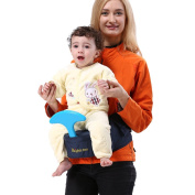 Brights two Baby Hip Seat Carrier, Baby Belt, Specially Designed For Carrying Your Little One With Ease, Blue