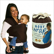 Moby Wrap Baby Carrier 100% Cotton Originals 5.5M Baby Sling 1-pc Set