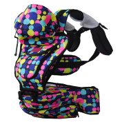 Dofull New Multi-colour Dot Baby Seat Carrier 4 Season 4-48months Backpack