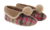 Baby Girls Grandma/Granny Style Slippers 0 - 24 Months BT1570