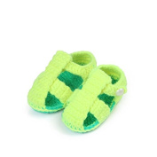 ZebraStory Handmade Baby Sandals Toddlers Crochet Casual Shoes Cartoon Knitting Wool Prewalkers 0-12 Months