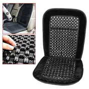 chinkyboo Wooden Bead Beaded Massaging Car Van Seat Cover Cushion