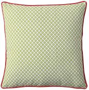 Serena & Lily Cut Circle Dec Pillow Cover- Grass