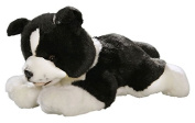 Toizz 33.56090 29 cm BIColini Border Collie Dog Plush Toy