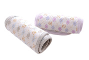 NovoBaby Infant Cotton Adjustable Umbilical Cord Belly Band Care 2 Pack in Purple Grey