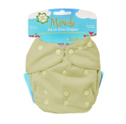 Kissa's All-In One Nappy, Butter Yellow, One Size