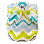 FuzziBunz Adjustable Nappy, Chevron, 4.5-18kg