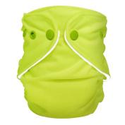 FuzziBunz Adjustable Nappy, Electric lime, 4.5-18kg
