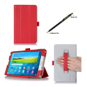 ProCase for Samsung Galaxy Tab S 8.4 Case - Tri-Fold Book Cover Case exclusive for 7623.8lxy Tab S Tablet (21cm , SM-T700) with Hand Strap, auto Sleep/Wake