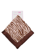 Vitamins - Baby Security Blanket - Pink Zebra